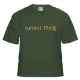 Tinyfish Olive Curious Things T-Shirt Gents