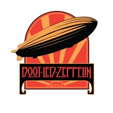 "Boot Led Zeppelin ""Celebration Day"" T-Shirt/DVD Bundle"
