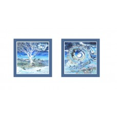 Pendragon ~  Love Over Fear Set of 2 Prints