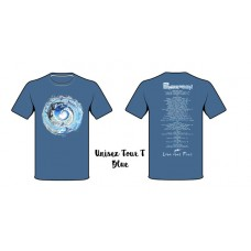 Pendragon ~  Love Over Fear Tour T-Shirt blue