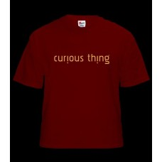 Tinyfish Red Curious Things T-Shirt Ladies